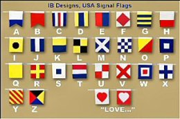 IB Designs Signal Flag Alphabet