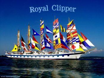 signal flags clipper cruise ship