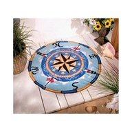 seaside rug,nautical,compass,decoration, home